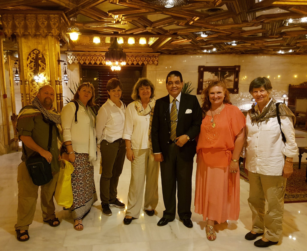 Rhonnda Fritz and Mohamed Nazmy our Egypt Tours Directors