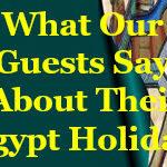 Egypt Tours Testimonials